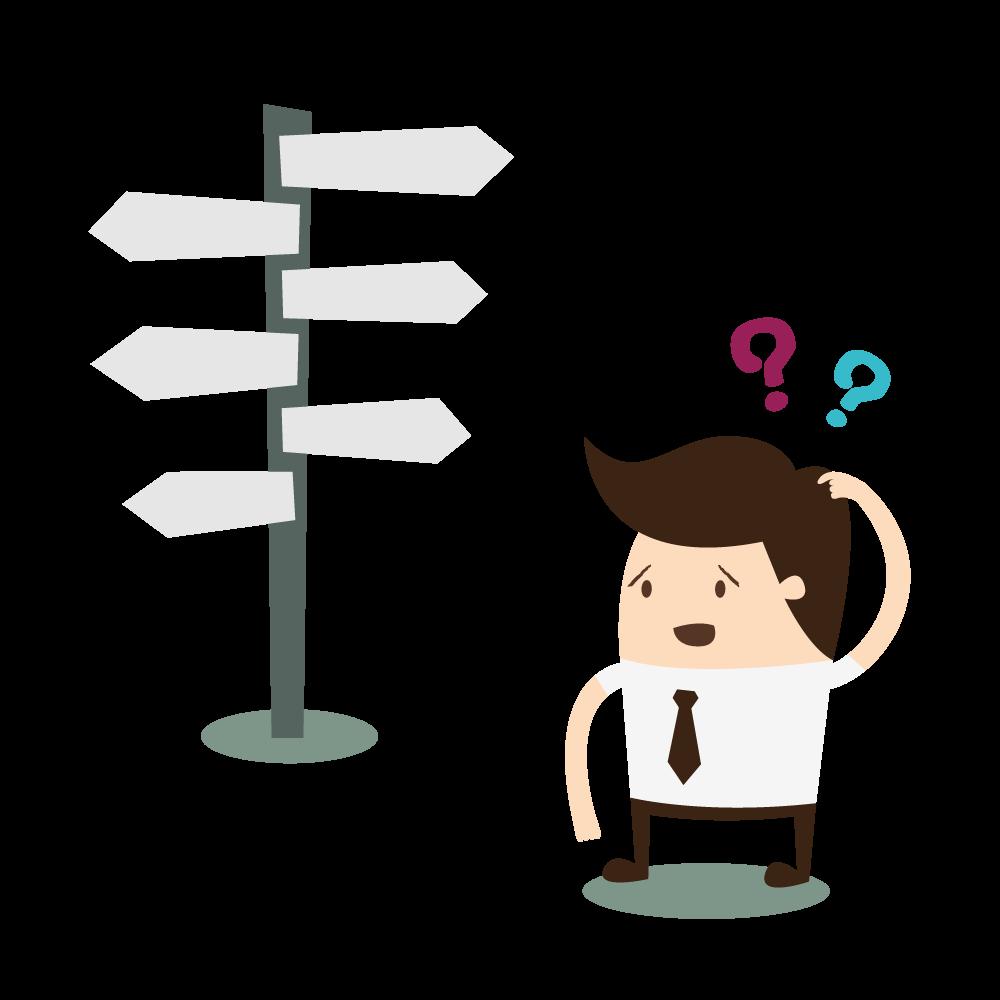 CP Management - Illustration choix direction